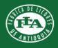 Logo Fabrica de Licores Antioquia